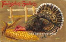 hol061406 - Thanksgiving Old Vintage Antique Postcard Post Card