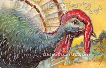 hol061410 - Thanksgiving Old Vintage Antique Postcard Post Card