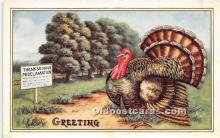 hol061411 - Thanksgiving Old Vintage Antique Postcard Post Card