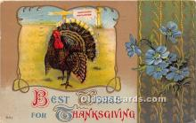 hol061415 - Thanksgiving Old Vintage Antique Postcard Post Card