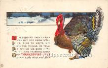 hol061416 - Thanksgiving Old Vintage Antique Postcard Post Card