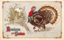 hol061420 - Thanksgiving Old Vintage Antique Postcard Post Card