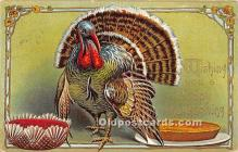 hol061421 - Thanksgiving Old Vintage Antique Postcard Post Card