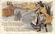 hol061433 - Thanksgiving Old Vintage Antique Postcard Post Card