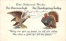 hol061448 - Thanksgiving Old Vintage Antique Postcard Post Card