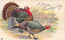 hol061452 - Thanksgiving Old Vintage Antique Postcard Post Card