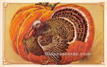 hol061464 - Thanksgiving Old Vintage Antique Postcard Post Card