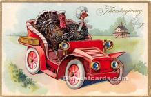 hol061486 - Thanksgiving Old Vintage Antique Postcard Post Card