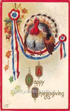 hol061500 - Thanksgiving Old Vintage Antique Postcard Post Card