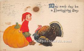 hol061503 - Thanksgiving Old Vintage Antique Postcard Post Card