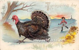 hol061504 - Thanksgiving Old Vintage Antique Postcard Post Card