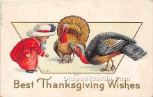hol061506 - Thanksgiving Old Vintage Antique Postcard Post Card