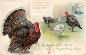 hol061509 - Thanksgiving Old Vintage Antique Postcard Post Card