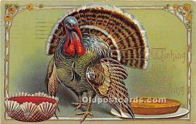 hol061510 - Thanksgiving Old Vintage Antique Postcard Post Card