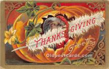 hol061516 - Thanksgiving Old Vintage Antique Postcard Post Card