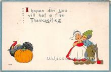 hol061518 - Thanksgiving Old Vintage Antique Postcard Post Card