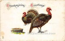 hol061524 - Thanksgiving Old Vintage Antique Postcard Post Card