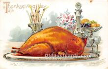 hol061527 - Thanksgiving Old Vintage Antique Postcard Post Card