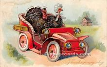hol061541 - Thanksgiving Old Vintage Antique Postcard Post Card