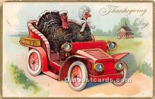 hol061547 - Thanksgiving Old Vintage Antique Postcard Post Card