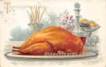 hol061550 - Thanksgiving Old Vintage Antique Postcard Post Card