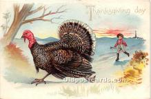 hol061558 - Thanksgiving Old Vintage Antique Postcard Post Card