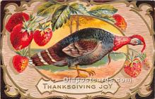 hol061594 - Thanksgiving Old Vintage Antique Postcard Post Card