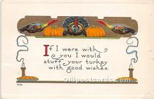 hol061602 - Thanksgiving Old Vintage Antique Postcard Post Card