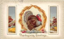 hol061604 - Thanksgiving Old Vintage Antique Postcard Post Card