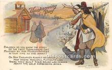 hol061607 - Thanksgiving Old Vintage Antique Postcard Post Card
