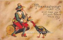 hol061613 - Thanksgiving Old Vintage Antique Postcard Post Card