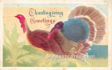 hol061619 - Thanksgiving Old Vintage Antique Postcard Post Card