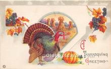 hol061621 - Thanksgiving Old Vintage Antique Postcard Post Card