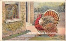 hol061622 - Thanksgiving Old Vintage Antique Postcard Post Card