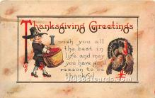 hol061623 - Thanksgiving Old Vintage Antique Postcard Post Card