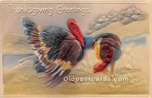 hol061629 - Thanksgiving Old Vintage Antique Postcard Post Card