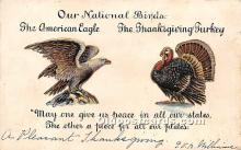 hol061631 - Thanksgiving Old Vintage Antique Postcard Post Card