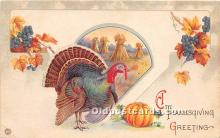 hol061638 - Thanksgiving Old Vintage Antique Postcard Post Card