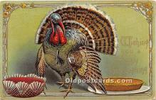 hol061648 - Thanksgiving Old Vintage Antique Postcard Post Card