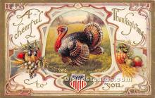 hol061653 - Thanksgiving Old Vintage Antique Postcard Post Card