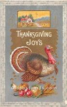 hol061673 - Thanksgiving Old Vintage Antique Postcard Post Card