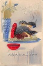 hol061678 - Thanksgiving Old Vintage Antique Postcard Post Card