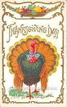 hol061682 - Thanksgiving Old Vintage Antique Postcard Post Card