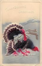 hol061690 - Thanksgiving Old Vintage Antique Postcard Post Card