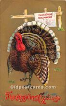 hol061709 - Thanksgiving Old Vintage Antique Postcard Post Card