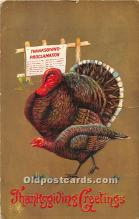 hol061711 - Thanksgiving Old Vintage Antique Postcard Post Card