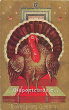 hol061713 - Thanksgiving Old Vintage Antique Postcard Post Card