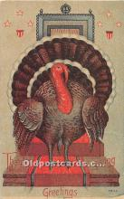 hol061715 - Thanksgiving Old Vintage Antique Postcard Post Card
