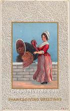 hol061716 - Thanksgiving Old Vintage Antique Postcard Post Card