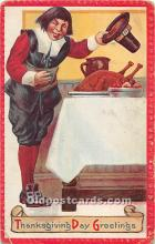 hol061721 - Thanksgiving Old Vintage Antique Postcard Post Card